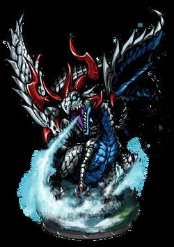 Nidhogg, Ice Dragon Figure
