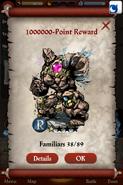 Gem Golem Point Reward