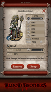 Goblin Cleric base stats