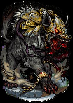 Bronzeclad Hyena II Figure