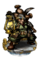 Dwarven Mine Worker II Figure
