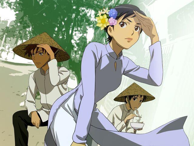 File:Official Art - Kai, Riku, Saya 002.jpg
