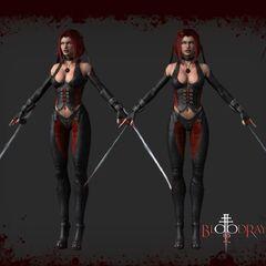 Cut-scene model in <i>BloodRayne 2</i>