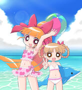 Momoko and Kuriko 2 by cc kk