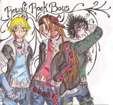 Rowdyrock boys by sweetxdeidara-d3gtkbh