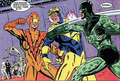 File:Slipstream, Booster Gold and Scarab.jpg