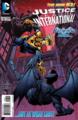 Justice League International Vol 3-8 Cover-1