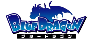 Blue dragon anime logo