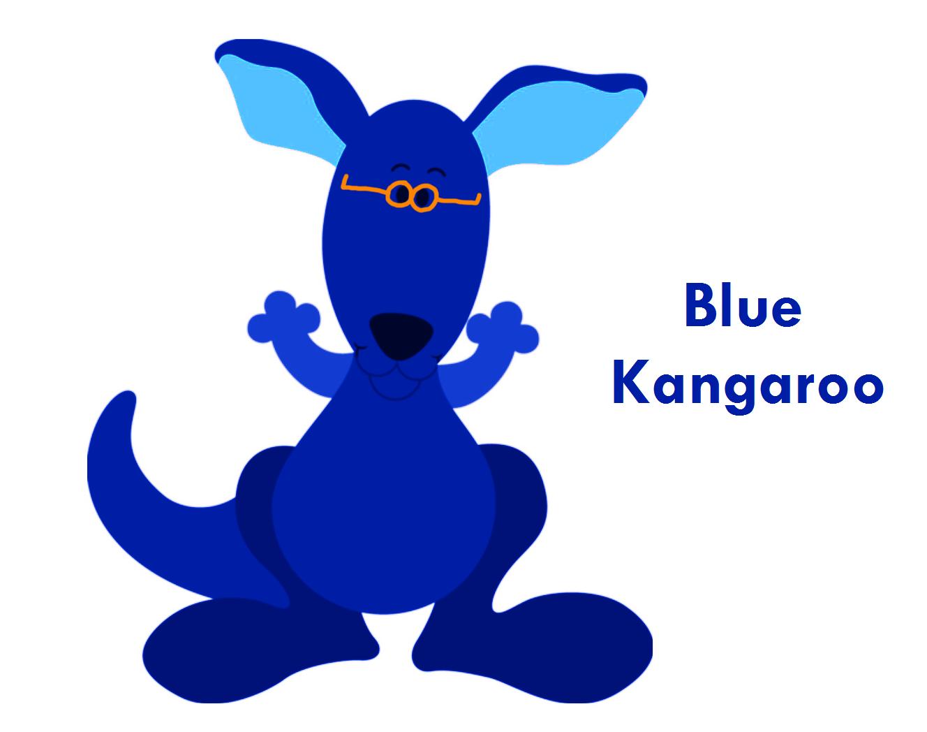 blue kangaroo blue u0027s clues fanon wiki fandom powered by wikia