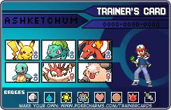 Ash's Team 1