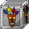 Aku Aku Crate - Iron
