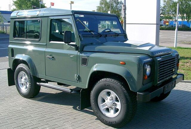 File:Land Rover Defender front 20070518.jpg