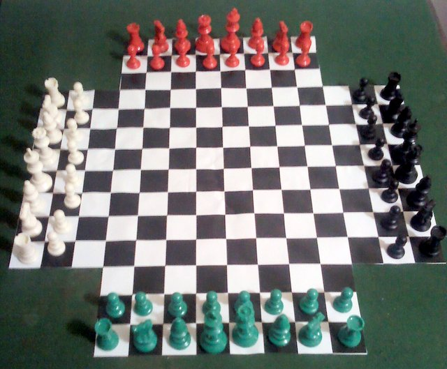 Image Four Handed Chess Board Games Galore