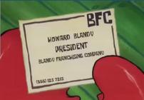 Tarjeta de presentacion de Howard Blandy.png