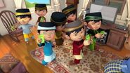 BoBoiBoy Hepta Split Raya Receiving Packets