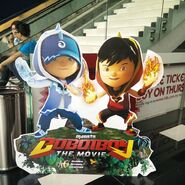BoBoiBoyBlaze and Ice Moviestand