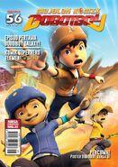 BoBoiBoy Magazine Issue 56
