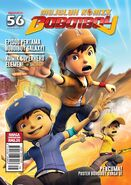 BoBoiBoy Magazine Issue 56