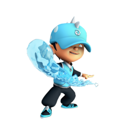 BoBoiBoy Water OfficialArt