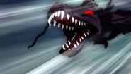 Shadow Dragon attacking