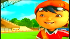 BoBoiBoy's hair error for Football Game