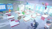 Bersihkan kelas tu cepat