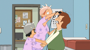 S6E10.007 Mr. Frond Getting His Hair Shaved