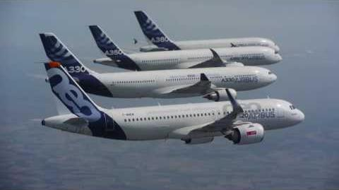 Airbus' commercial aircraft