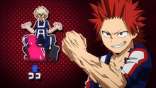 Eijiro joins Team Bakugo