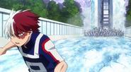 Shoto Freezes the Ground (Anime)