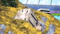 USJ landslide zone