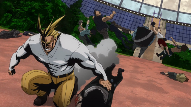 File:All Might quickly defeating villains.png
