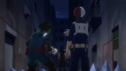 Izuku and Shoto vs Stain
