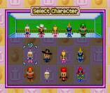 Normal Character Select