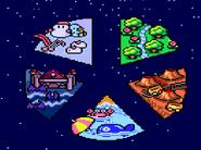 Mega Bomberman Levels
