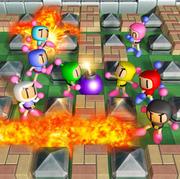 Bomberman Blast-artwork