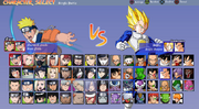 Raging Storm Character Selection