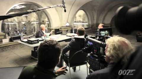 New SKYFALL Production Videoblog