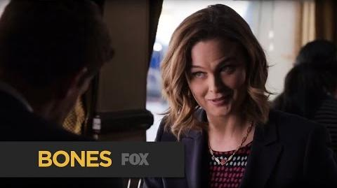 """BONES Excellent from """"The Fight in the Fixer"""" FOX BROADCASTING"""