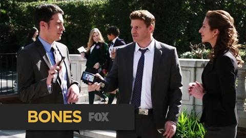 """BONES The Perfect Couple from """"The Lost in the Found"""" FOX BROADCASTING-0"""