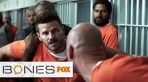 """Booth Becomes A Target from """"The Conspiracy In The Corps"""" BONES FOX BROADCASTING"""
