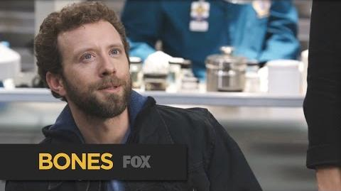"BONES Working The Case from ""The Death in the Defense"" FOX BROADCASTING"