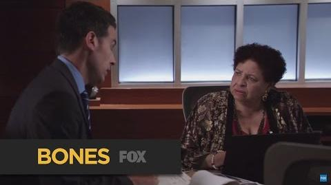 """BONES Suspect from """"The Loyalty in the Lie"""" FOX BROADCASTING"""
