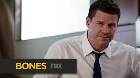 """BONES Doughnuts For Sweets from """"The Psychic in the Soup"""" FOX BROADCASTING"""