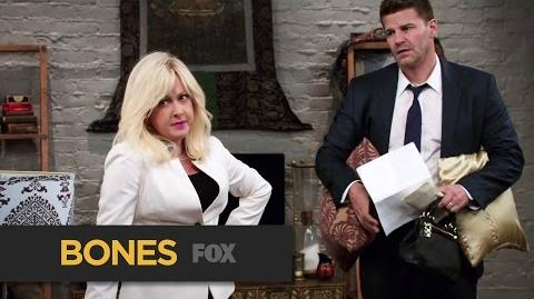 """BONES Psychic On The Scene from """"The Psychic in the Soup"""" FOX BROADCASTING"""