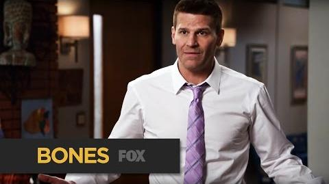 "BONES Turkey Dance from ""High Treason in the Holiday Season"" FOX BROADCASTING"