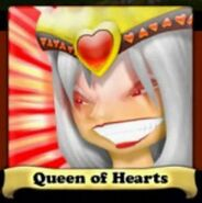 Queen of Hearts Angry