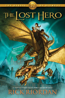 The Lost Hero Cover