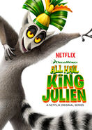 All Hail King Julien poster