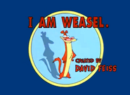I Am Weasel intertitle